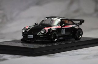 <img class='new_mark_img1' src='https://img.shop-pro.jp/img/new/icons1.gif' style='border:none;display:inline;margin:0px;padding:0px;width:auto;' />MODELCOLLECT 1/64 RAUH WELT BEGRIFF RWB 930 GT WING BLACK 限定999台