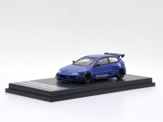<img class='new_mark_img1' src='https://img.shop-pro.jp/img/new/icons1.gif' style='border:none;display:inline;margin:0px;padding:0px;width:auto;' />6月以降予約 one model 1/64 Honda Civic EG6 Rocket Bunny Blue