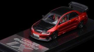 <img class='new_mark_img1' src='https://img.shop-pro.jp/img/new/icons1.gif' style='border:none;display:inline;margin:0px;padding:0px;width:auto;' />5月以降予約  CM MODEL 1/64 Mitsubishi Lancer EVO IX Red Black