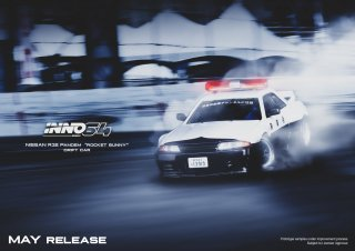 <img class='new_mark_img1' src='https://img.shop-pro.jp/img/new/icons1.gif' style='border:none;display:inline;margin:0px;padding:0px;width:auto;' />INNO 1/64 NISSAN SKYLINE GT-R (R32) PANDEM