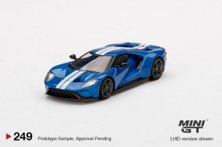 <img class='new_mark_img1' src='https://img.shop-pro.jp/img/new/icons1.gif' style='border:none;display:inline;margin:0px;padding:0px;width:auto;' />9月以降予約 MINI GT 1/64 Ford GT Liquid Blue 左ハンドル(LHD)