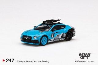 <img class='new_mark_img1' src='https://img.shop-pro.jp/img/new/icons1.gif' style='border:none;display:inline;margin:0px;padding:0px;width:auto;' />9月以降予約 MINI GT 1/64 Bentley Continental GT 2020 GP Ice Race 左ハンドル(LHD)