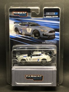 <img class='new_mark_img1' src='https://img.shop-pro.jp/img/new/icons1.gif' style='border:none;display:inline;margin:0px;padding:0px;width:auto;' />Tarmac Works 1/64 Ford Mustang GT4 SEMA 2016 Presentation 香港限定 チェイスカー 無塗装 在庫1個のみ