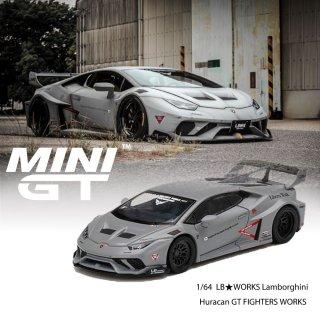 <img class='new_mark_img1' src='https://img.shop-pro.jp/img/new/icons1.gif' style='border:none;display:inline;margin:0px;padding:0px;width:auto;' />9月予約 MINI GT 1/64 LB★WORKS Lamborghini Huracn GT FIGHTERS WORKS 左ハンドル(LHD)LBWKブリスター仕様(定形外郵便選択可)