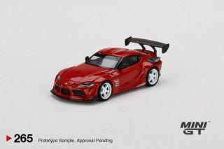 <img class='new_mark_img1' src='https://img.shop-pro.jp/img/new/icons1.gif' style='border:none;display:inline;margin:0px;padding:0px;width:auto;' />9月以降予約 MINI GT 1/64 HKS Toyota GR  Supra Renaissance Red RHD(右ハンドル)265