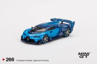 <img class='new_mark_img1' src='https://img.shop-pro.jp/img/new/icons1.gif' style='border:none;display:inline;margin:0px;padding:0px;width:auto;' />9月以降予約 MINI GT 1/64 Bugatti Vision Gran Turismo Light Blue 266
