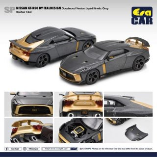<img class='new_mark_img1' src='https://img.shop-pro.jp/img/new/icons12.gif' style='border:none;display:inline;margin:0px;padding:0px;width:auto;' />Era CAR 1/64 NISSAN GT-R50 By ITALDESINGN Goodwood Version Kinettic Gray