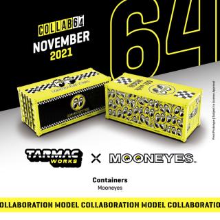 1月以降予約 Tarmac Works 1/64  Container Mooneyes コンテナ 2個 ムーンアイズ(会員予約割引あり)