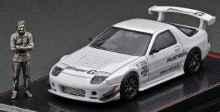 <img class='new_mark_img1' src='https://img.shop-pro.jp/img/new/icons1.gif' style='border:none;display:inline;margin:0px;padding:0px;width:auto;' />12月以降予約 ignition model 1/64 Mazda RX-7 (FC3S) RE Amemiya White Mr.Amemiya ※メタルフィギュア付