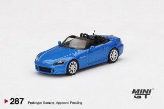<img class='new_mark_img1' src='https://img.shop-pro.jp/img/new/icons1.gif' style='border:none;display:inline;margin:0px;padding:0px;width:auto;' />11月以降 予約 MINI GT 1/64 Honda S2000 (AP2) Bermuda / Laguna Blue Pearl 左ハンドル(LHD)