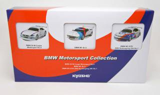 <img class='new_mark_img1' src='https://img.shop-pro.jp/img/new/icons1.gif' style='border:none;display:inline;margin:0px;padding:0px;width:auto;' />京商 1/64 BMW Motorsport Collection 【Z4M Cope#4,M1 Gr.5,M3 GTR Nurbring24h #1】 3台組