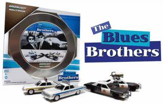 GREEN LIGHT 1/64 Hollywood Film Reels Series1 Blues Brothers(1980)