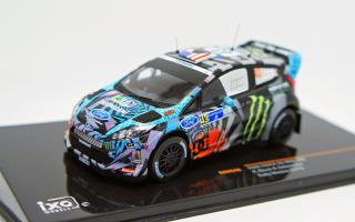 <img class='new_mark_img1' src='https://img.shop-pro.jp/img/new/icons1.gif' style='border:none;display:inline;margin:0px;padding:0px;width:auto;' />IXO 1/43 FORD FIESTA RS WRC #43 K.BLOCK-A.GELSOMINO RALLY GUANAJUATO MEXICO 2013
