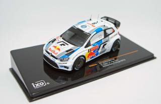 <img class='new_mark_img1' src='https://img.shop-pro.jp/img/new/icons1.gif' style='border:none;display:inline;margin:0px;padding:0px;width:auto;' />IXO 1/43 VW POLO R WRC #8 S.OGIER-J INGRASSIA RALLY DE PORTUGAL 2013 WINNER