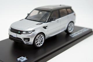 <img class='new_mark_img1' src='https://img.shop-pro.jp/img/new/icons1.gif' style='border:none;display:inline;margin:0px;padding:0px;width:auto;' />Triple9×Premium X 1/43  Range Rover Sport Metallic Silver 2014 限定600個