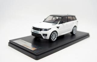 <img class='new_mark_img1' src='https://img.shop-pro.jp/img/new/icons1.gif' style='border:none;display:inline;margin:0px;padding:0px;width:auto;' />Premium X 1/43  RANGE ROVER SPORT 2014 ホワイト