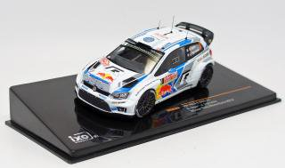 <img class='new_mark_img1' src='https://img.shop-pro.jp/img/new/icons1.gif' style='border:none;display:inline;margin:0px;padding:0px;width:auto;' />IXO 1/43 VW POLO R WRC #1 S.Oger Monte-Carlo 2014 With night lights