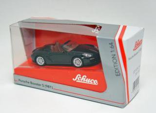 <img class='new_mark_img1' src='https://img.shop-pro.jp/img/new/icons59.gif' style='border:none;display:inline;margin:0px;padding:0px;width:auto;' />schuco 1/64 PORSCHE BOXSTER S 981 black-metallic