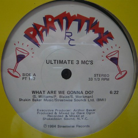 Ultimate 3 MC's / What Are We Gonna Do? (12 Inch) - Vinyl Cycle Records