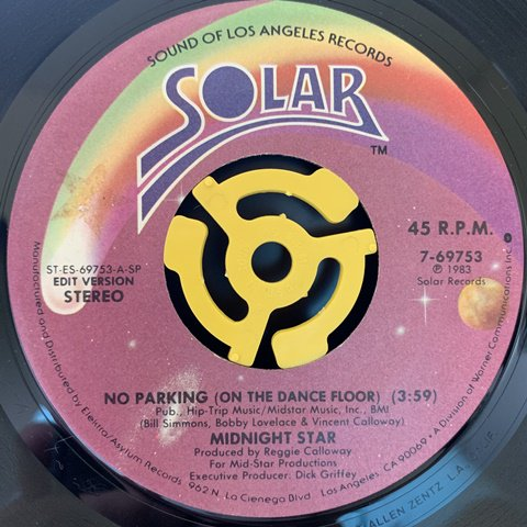 Midnight Star / No Parking (On The