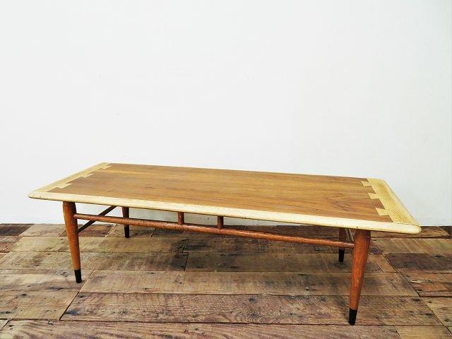 1960's ヴィンテージ LANE社製  ウッド ローテーブル
