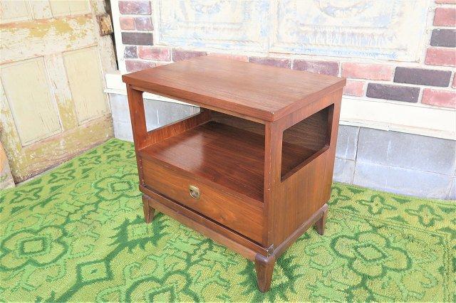 1960's ヴィンテージ ウッド ナイトテーブル