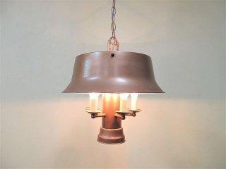 ヴィンテージ アイアンフレーム 6灯 ペンダントランプ