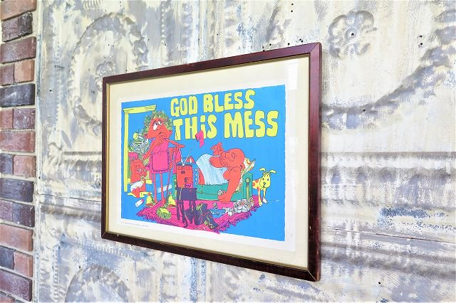 1970's ヴィンテージ God Bless This Mi...