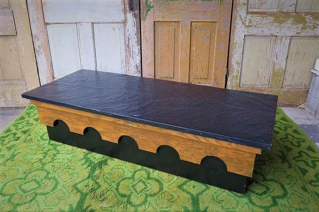 1950-60's エイドリアンピアソールデザイン ストーントップテーブル