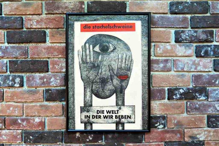 1960'sヴィンテージ Die Stachelschwein...