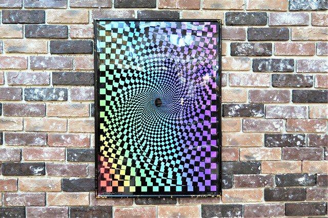 1990's ヴィンテージ サイケデリックデザイン  額入りポスター