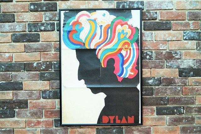 1960's Milton Glaser ヴィンテージ 額入り ポスター