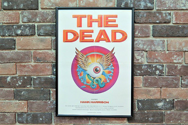 1980's THE DEAD ヴィンテージ 額入り ポスター