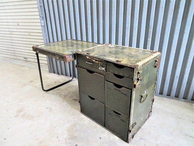 ヴィンテージ WW2デザイン US.ARMY フィールドデスク�