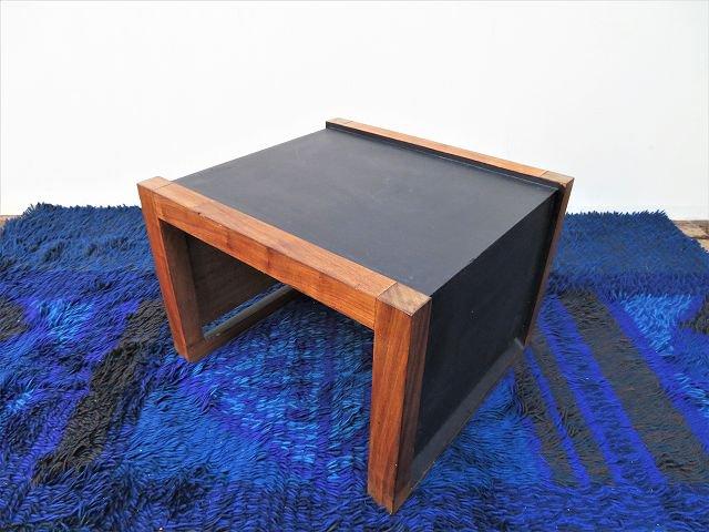 ヴィンテージ モダン ウッド サイドテーブル