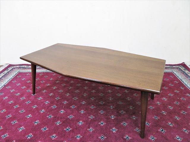 1960-70's ヴィンテージ ウッド コーヒーテーブル