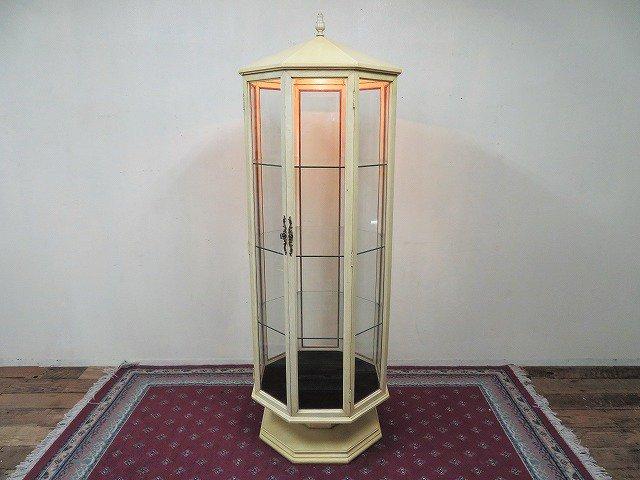 1970's ヴィンテージ ライト付き ガラス...