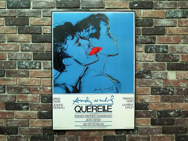 "1980's Andy Warhol ""Querelle"" 額入..."