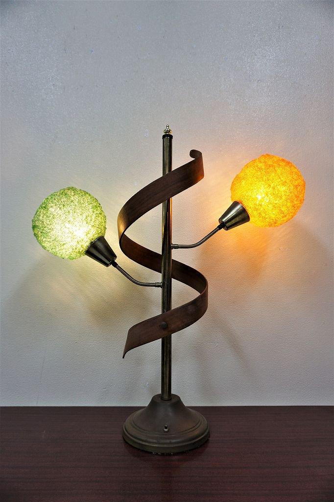 1960-70's ヴィンテージ スパゲティ 2灯...