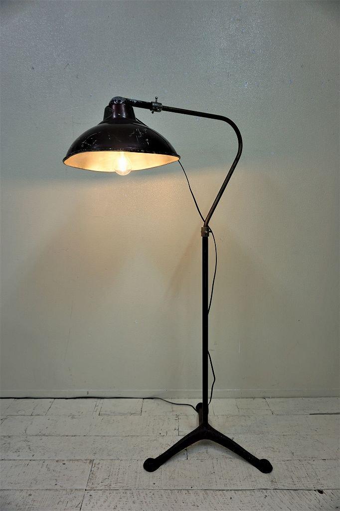1940-50's Desert Air lamp社製 インダストリアル フロアランプ