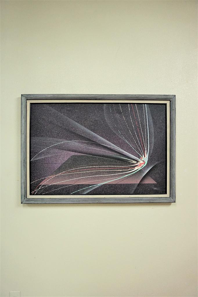 1960-70's ヴィンテージ スプラッシュアート ウォールデコ