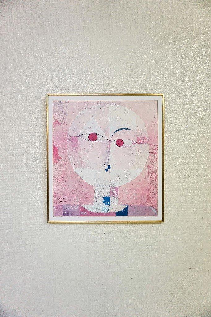 ヴィンテージ Paul Klee 額入りポスター