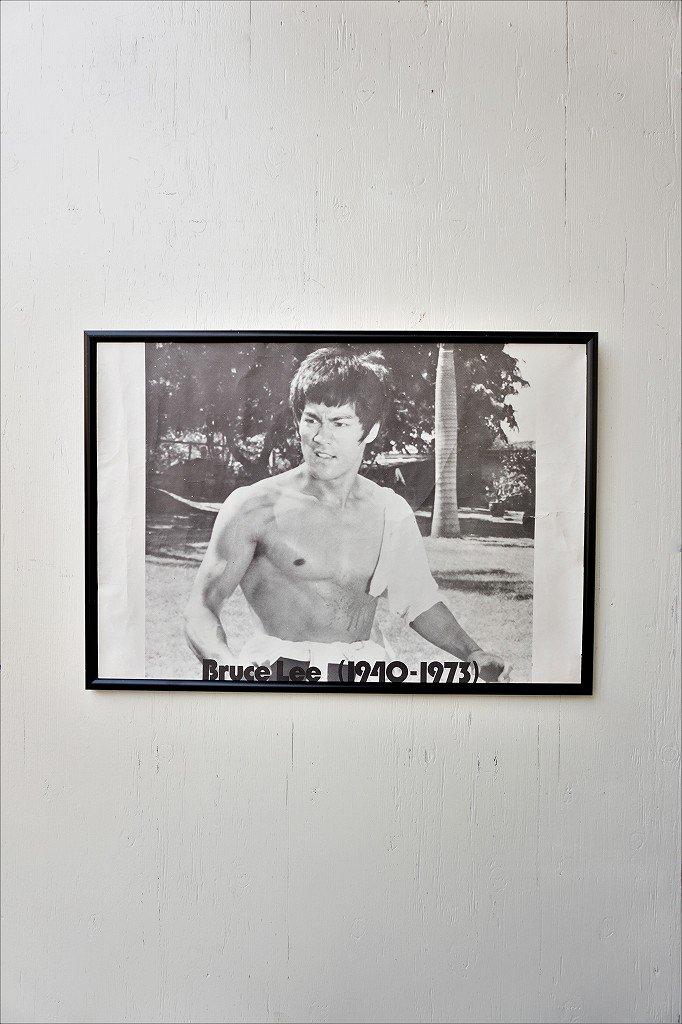 Bruce Lee ヴィンテージ 額入りポスター