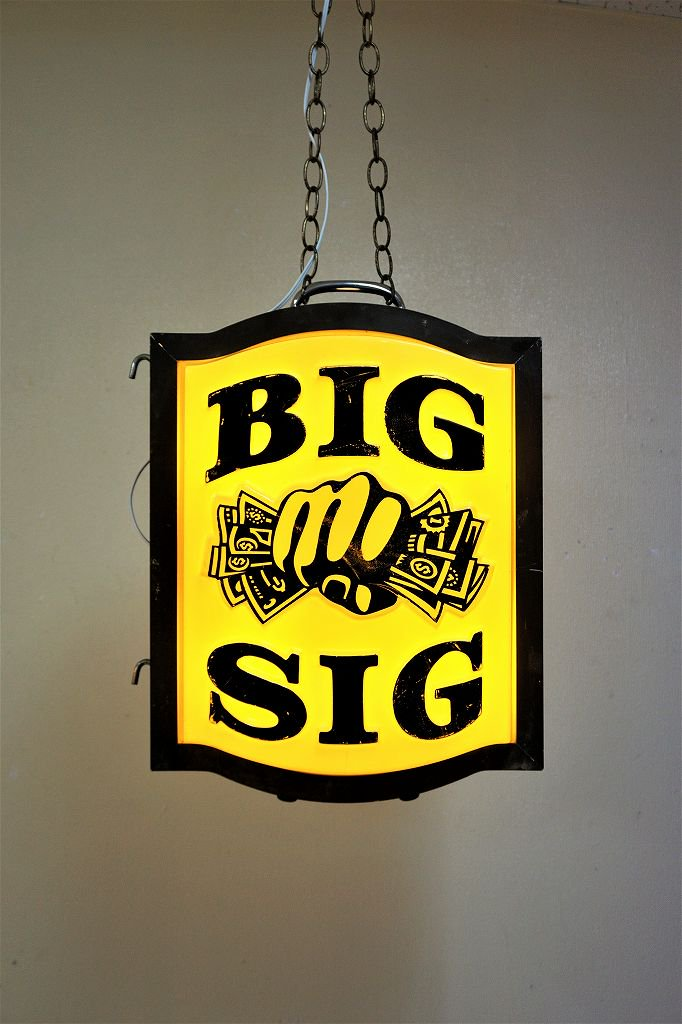 1950-60's ヴィンテージ BIG SIG ライト...