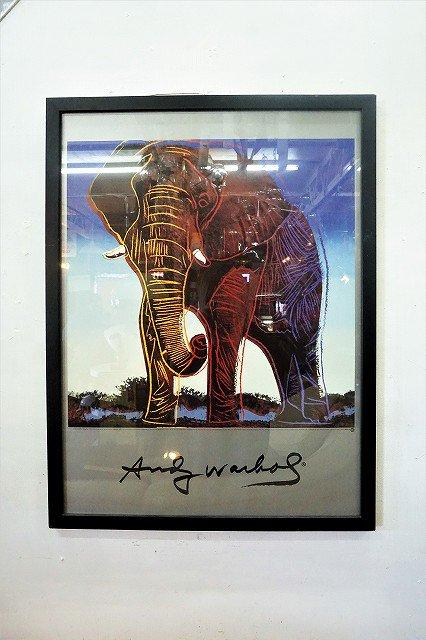 """Andy Warhol"" 額入りポスター"