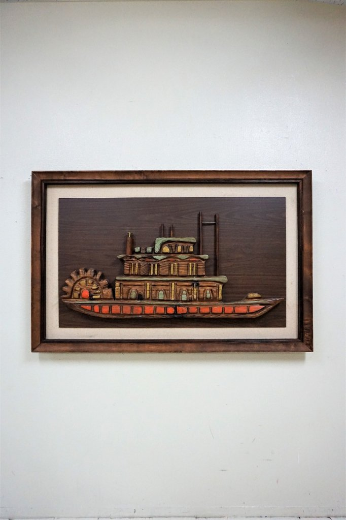1950-60's ヴィンテージ チェーンソーアート ウォールデコ