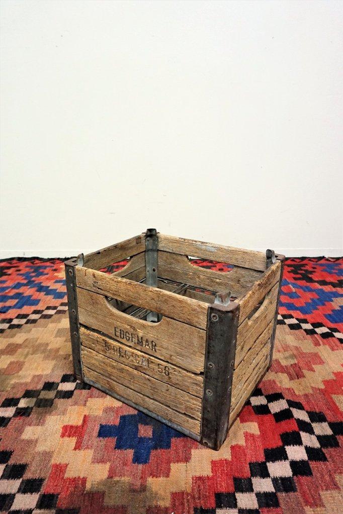 1950's  EDGEMAR ヴィンテージ ミルククレート/木箱