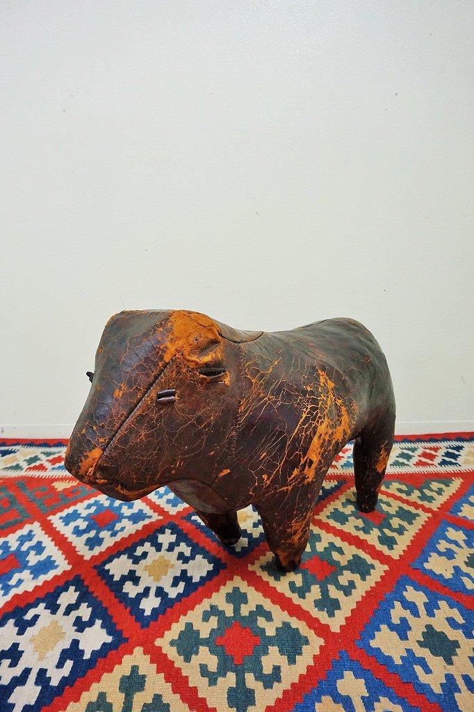 Omersa ヴィンテージ アニマル フットスツール /bull