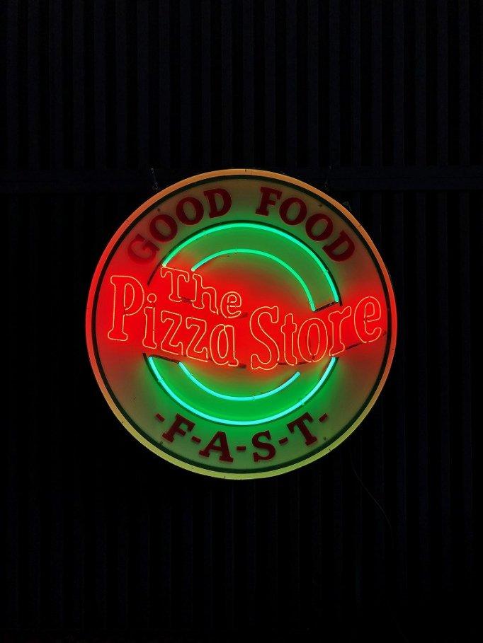 ヴィンテージ PIZZA STORE ネオンサイン※近畿圏内のみの販売