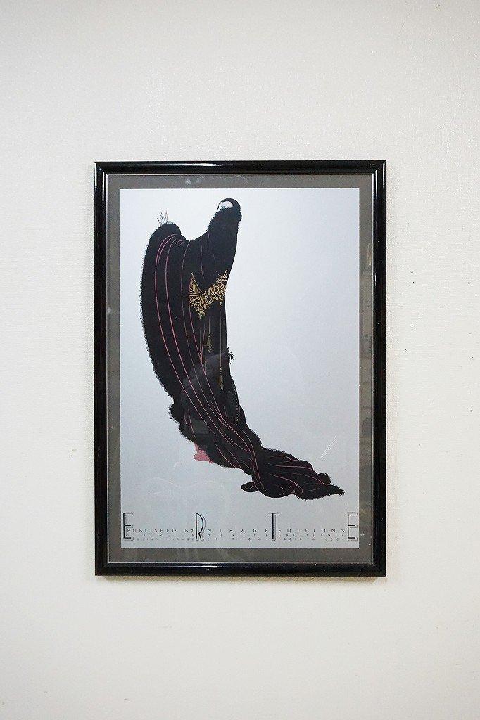 1980's ''ERTE'' ヴィンテージ 額入りポスター